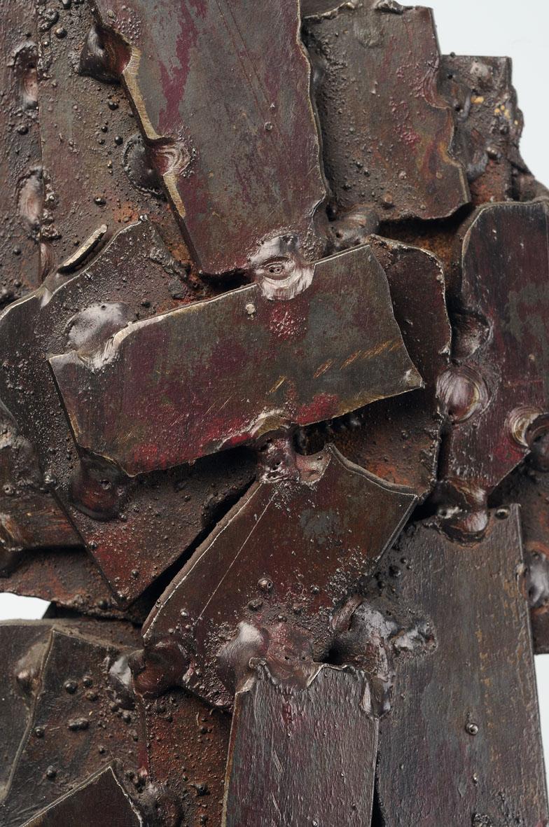 détail des plaques métalliques